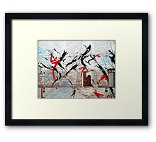 Street Art 19 Framed Print