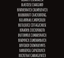 Britishguy Funnyname (White words) by CumberTees