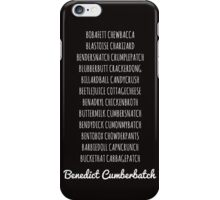 Britishguy Funnyname (White words) iPhone Case/Skin