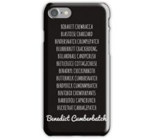 Britishguy Funnyname (White words) iPhone Case/Skin