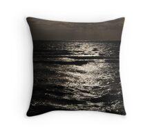 Twilight at Sandringham Beach Throw Pillow