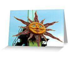 Sun 1 Greeting Card