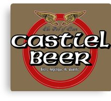 Brewhouse: Castiel Beer Canvas Print