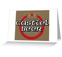 Brewhouse: Castiel Beer Greeting Card