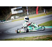 Tony Kart Photographic Print