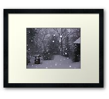 Winter Wonderland in the Appalachians Framed Print