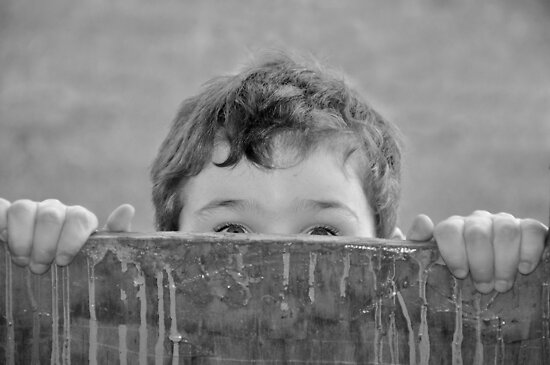 Childhood Glimpse by Judy Will