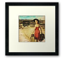 Dumped! Framed Print