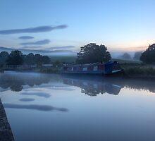 Canal Side At Thorlby by SteveMG