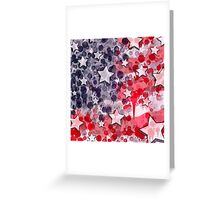 United States Blues Greeting Card