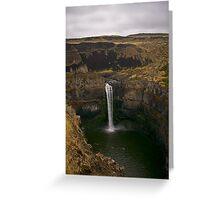 Palouse Falls Greeting Card