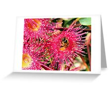 Beeing Hungry Greeting Card