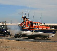 Launching The Ramsey Lifeboat by RedHillDigital