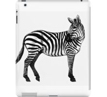 Inky Zebra iPad Case/Skin