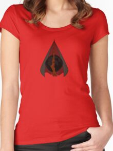 Deathly Hallows Women's Fitted Scoop T-Shirt