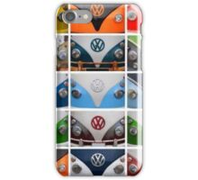 VW Multi Split screen iPhone Case/Skin