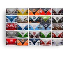 VW Multi Split screen Canvas Print