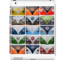 VW Multi Split screen iPad Case/Skin