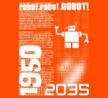Random Robot Kids Tee
