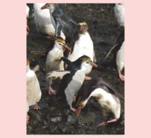 Fluffy Crested Penguin Kids Clothes