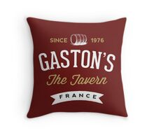 Disney Gaston's Tavern Throw Pillow