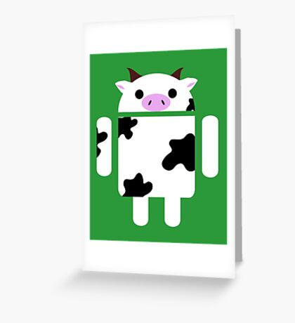Droidarmy: Who let the cows out? Greeting Card