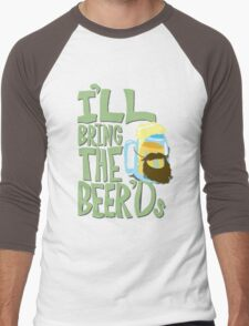 I'll Bring the BEER'ds Men's Baseball ¾ T-Shirt