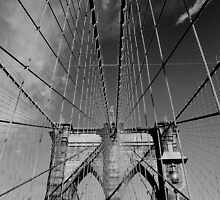 Brooklyn Bridge 2 by Paul Finnegan