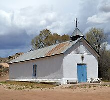 Sangre de Cristo Chapel in Cuartelez by Catherine Sherman