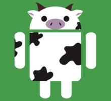 Droidarmy: Who let the cows out? Kids Tee