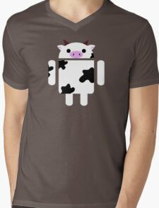 Droidarmy: Who let the cows out? Mens V-Neck T-Shirt
