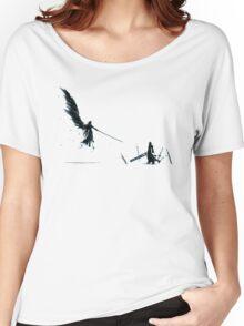 Cloud versus Sephiroth Women's Relaxed Fit T-Shirt