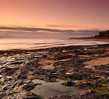 Bamburgh Castle at Dawn by Rachel Slater