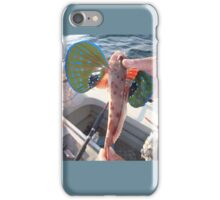 Funny Flying Fish iPhone Case/Skin