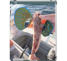 Funny Flying Fish iPad Case/Skin