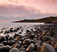 Dunstanburgh Dawn by Rachel Slater