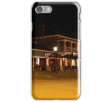 Bridge Hotel, Port of Echuca, Echuca, Victoria iPhone Case/Skin