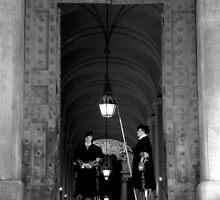 Swiss guards by Qiaa