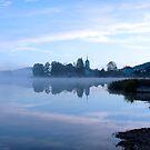 Lac de l'Abbay, Jura, France by Bob Culshaw