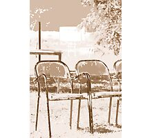 Empty Chairs © Photographic Print