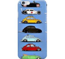 Beetle variants iPhone Case/Skin