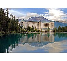 THE CHATEAU AT LAKE LOUISE, ROCKY MTS, CANADA Photographic Print