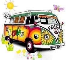 Love Bus by Sharon Poulton