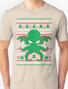 Cthulhu Cultist Christmas - Cthulhu Ugly Christmas Sweater T-Shirt