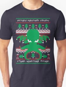 Cthulhu Cultist Christmas - Cthulhu Ugly Christmas Sweater T-Shirt