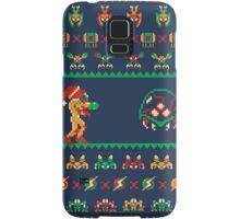 We Wish You A Metroid Christmas! Samsung Galaxy Case/Skin