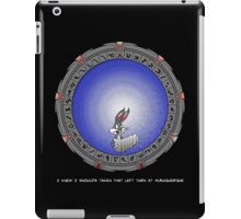 Left turn at Albuquerque iPad Case/Skin