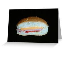 Ham Sandwich Greeting Card