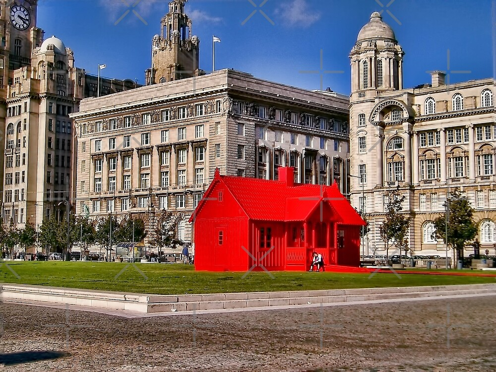 Red House, Liverpool, UK by Elaine Teague
