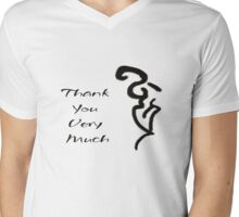 Thank You Very Much Mens V-Neck T-Shirt